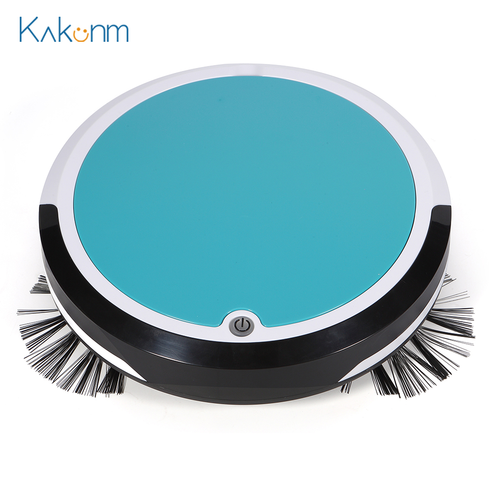 Automatic Vacuum Cleaner Electric Robot Mopping Sweeping Suction Cordless Auto Dust Sweeper Machine Anti-drop For Home Cleaning