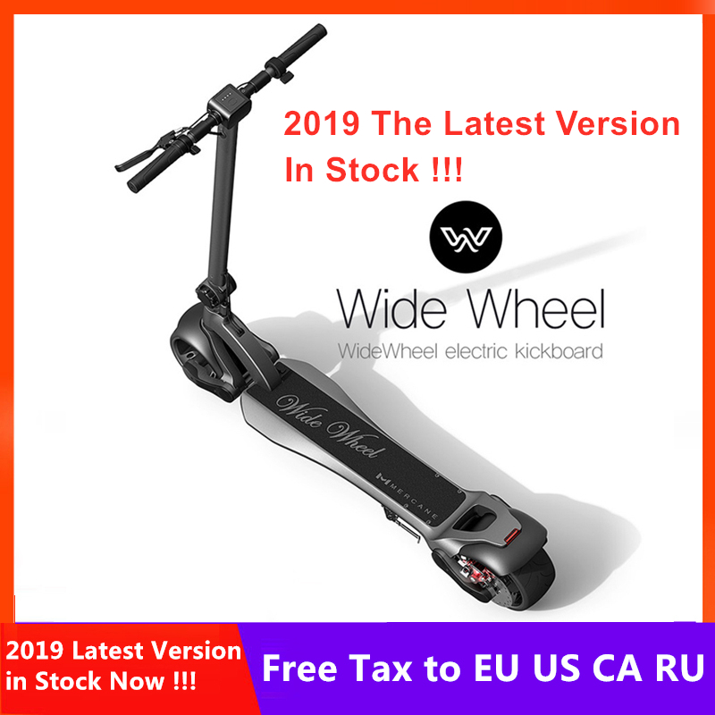 2020 Newest Mercane Wide Wheel scooter 48V 1000W Smart Electric Scooter Wide Wheel Dual Motor Disc Brake Skate Hoverboard