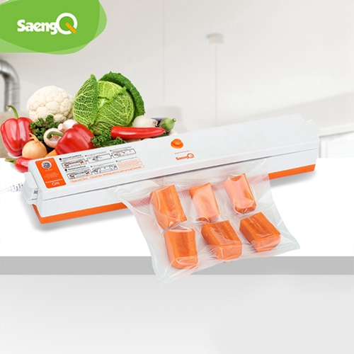SaengQ Vacuum Bags Vacuum Food Sealers Packaging Machine 220V Including 15Pcs Packer Can Use For Food Saver Kitchen Appliances