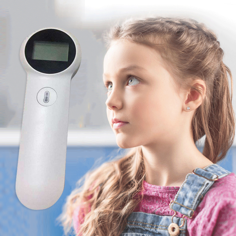 Digital Infrared IR LCD Baby Forehead Ear Health Care Baby Thermometer Non-Contact Adult Body Fever Measurement