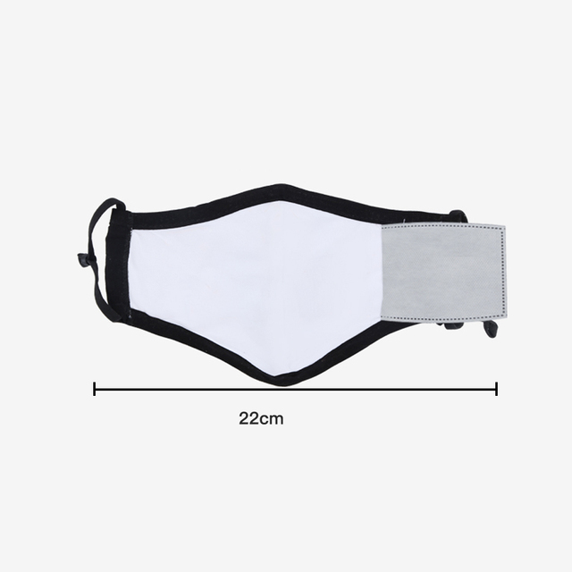 PM2.5 Cotton Black Mouth Mask With Valve Anti-Dust Mask Activated Carbon Filter Windproof Mouth-Muffle Bacteria Flu Face Masks 3