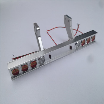  Metal Taillight Modified Light Replacement Carriage Truck for Tamiya 1/14 Scale Tractor 56319 56330 RC Car Parts