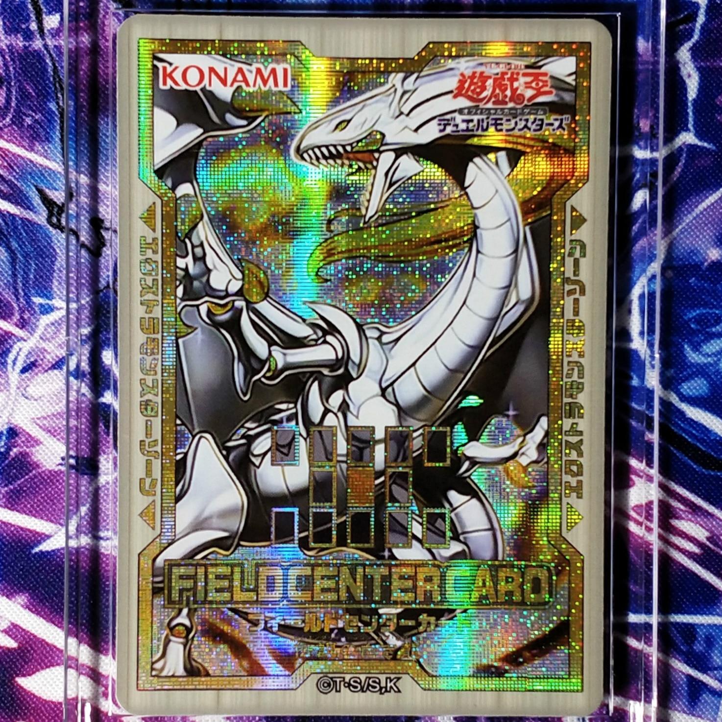 Yu Gi Oh Lendário Dragão de Branco Colorido DIY Brinquedos Hobbies Passatempo Colecionáveis Jogo Coleção Anime Cartões