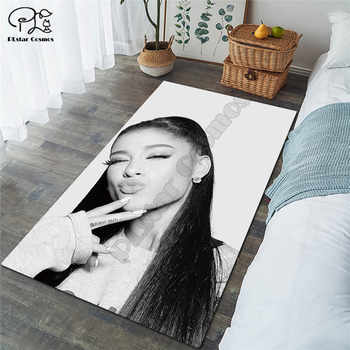 Ariana Grand carpet Square Anti-Skid Area Floor Mat 3D Rug Non-slip Mat Dining Room Living Room Soft Bedroom Carpet style-01