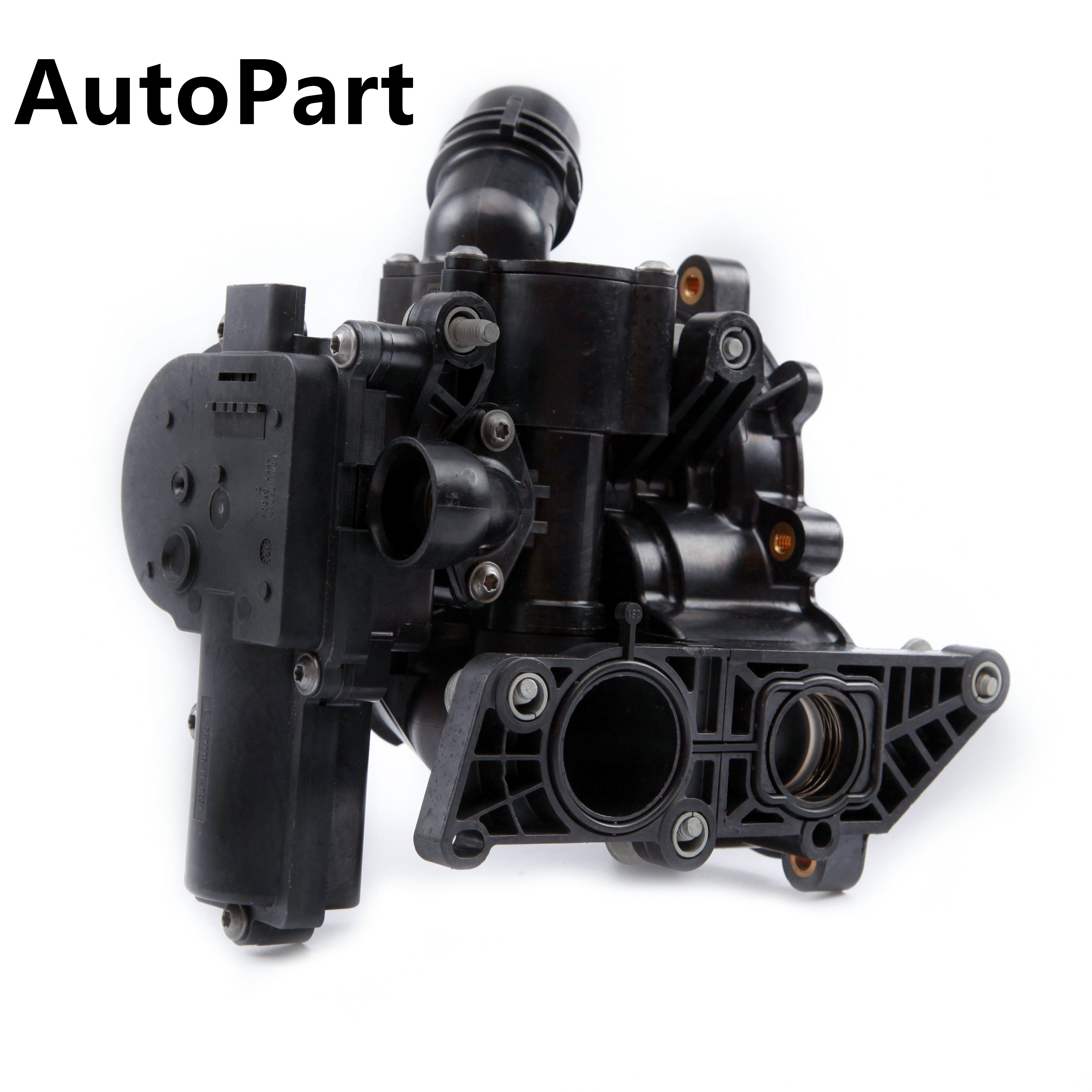 06L 121 111 B 06L121111G พลาสติก EA888 อิเล็กทรอนิกส์ปั๊มน้ำ Thermostat สำหรับ VW Golf Audi A4 A6 A7 Q5 q7 1.8TFSI 2.0TFSI