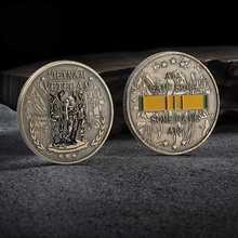 Вьетнамская война Ветеран Памятная коллекция монет искусство подарки сувенир наградная монета