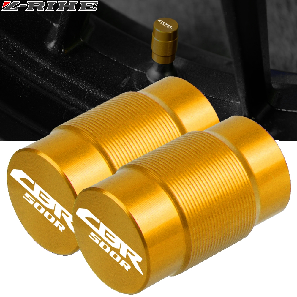 For HONDA CBR500R CBR 500R CB500F <font><b>CB500X</b></font> <font><b>2013</b></font> 2014 2015-2018 Motorcycle Accessories Wheel Tire Valve caps CNC Airtight cover image