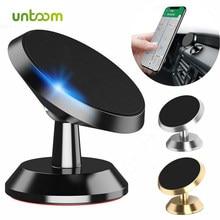 Untoom suporte do telefone do carro magnético universal ímã montagem do telefone para o iphone x xs max samsung no carro celular suporte