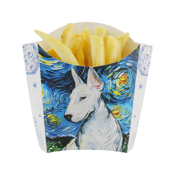 100pcs Craetive party birthday wedding favor french fries snack paper cup small food disposable takeaway packaging cups