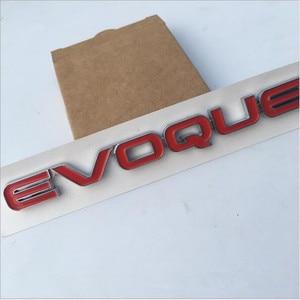 Image 3 - กีฬาEVOQUE HSE LUXURY Si4 SCV6 SDV6 SDV8ตัวอักษรจำนวนAutobiography Bar Emblem Badgeรถจัดแต่งทรงผมTrunkสติกเกอร์สำหรับLand rove