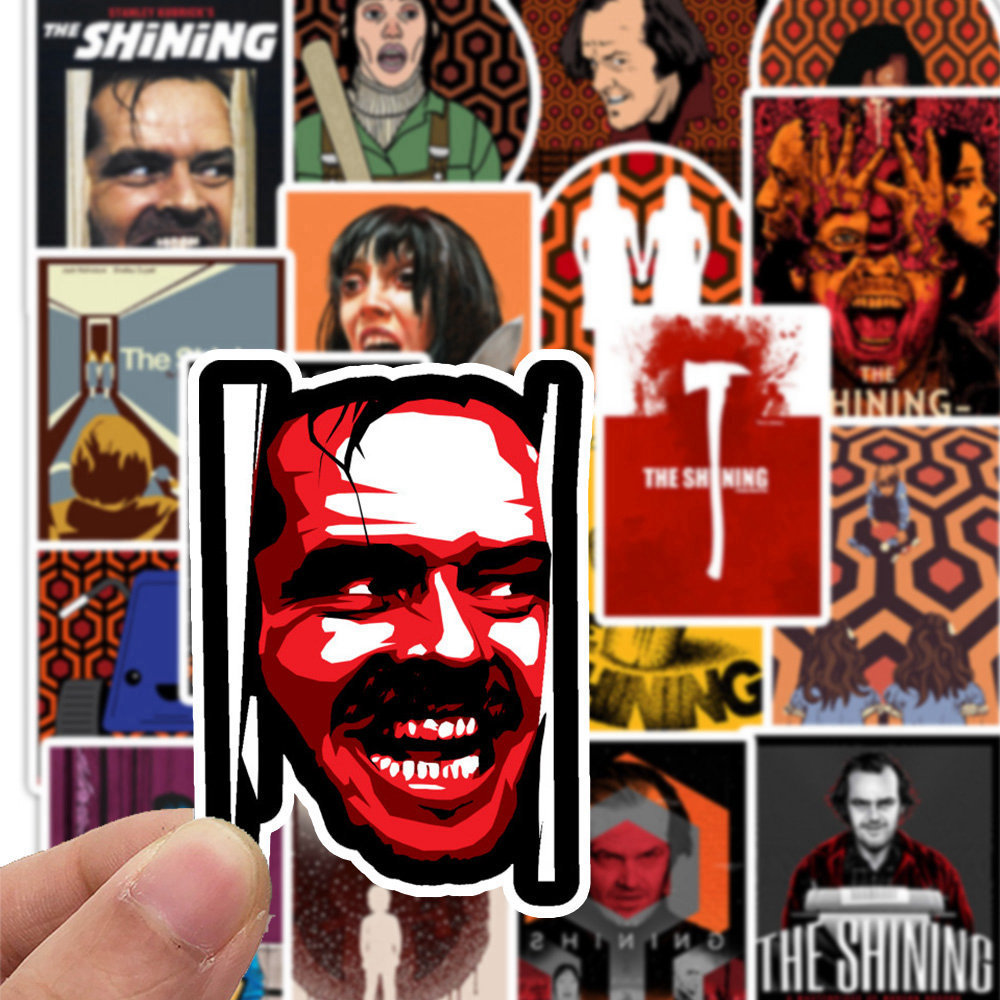50 PCS Mixed Classic Movie Stickers Pulp Fiction Leon The Shining Kill Bill Sticker For Luggage Laptop Phone Skateboard Decals