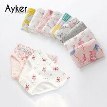 3pcs/lot Baby Panties Soft Cotton Kids Underwears Girl Briefs Lovely Cartoon Girls Clothing Children Underpants
