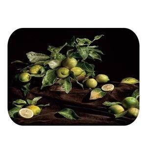 Image 5 - יפה פירות דפוס עיצוב קטיפה עבה רצפת מחצלת, בית חדר שינה דקורטיבי רצפת מחצלת, מטבח מחצלת, אמבטיה מחצלת 40x60cm ..