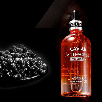 deep sea caviar face serum anti wrinkle serum Moisturizing serum facial Skin Care Shrinking Pore lifting visage essence Liquid diet esthetic essence caviar antiwrinkling filler serum 30 ml