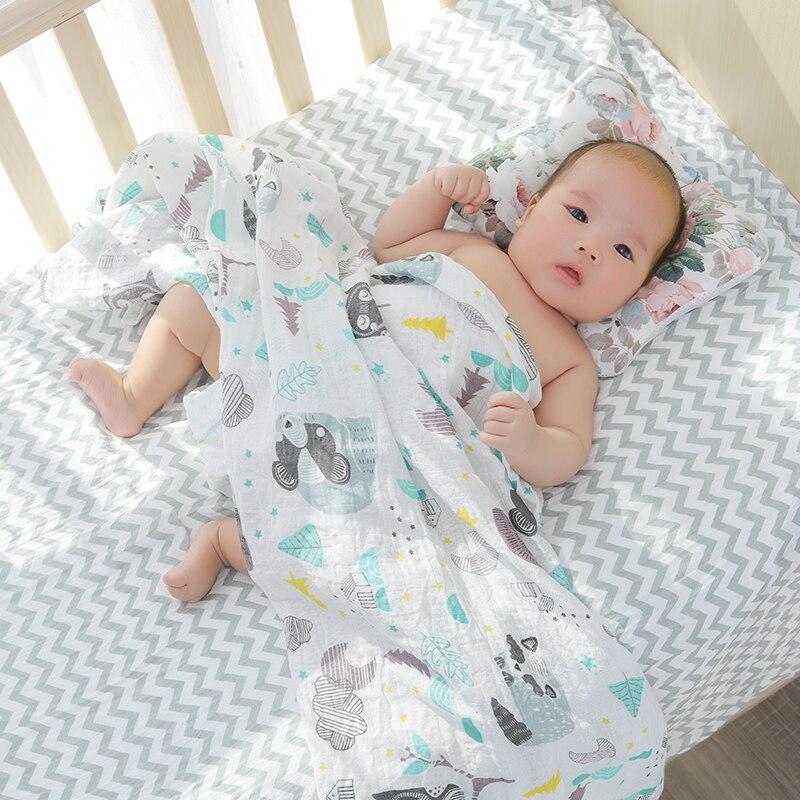 [simfamily]Baby Nursing Pillow Infant Newborn Sleep Support Concave Cartoon Pillow Printed Shaping Cushion Prevent Flat Head 2