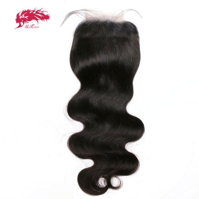 Perruque Lace Closure brésilienne vierge 6x6   Body Wave, pre-plucked avec Baby Hair, naissance des cheveux naturelle, Swiss Lace Closure transparente, taille