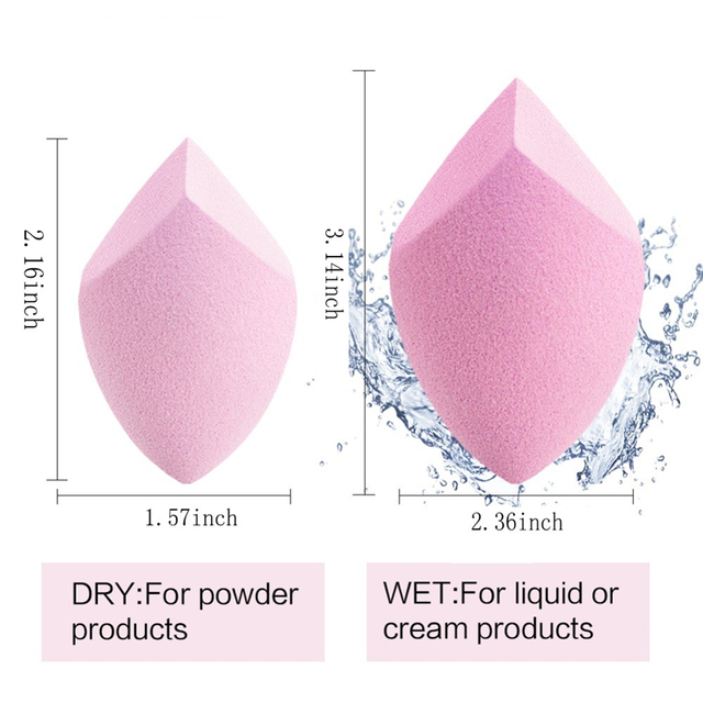 Hot Sales 20 Styles Cosmetic Puff Powder Puff Smooth Women's Makeup Foundation Sponge Beauty to Make Up Tools Accessories 4