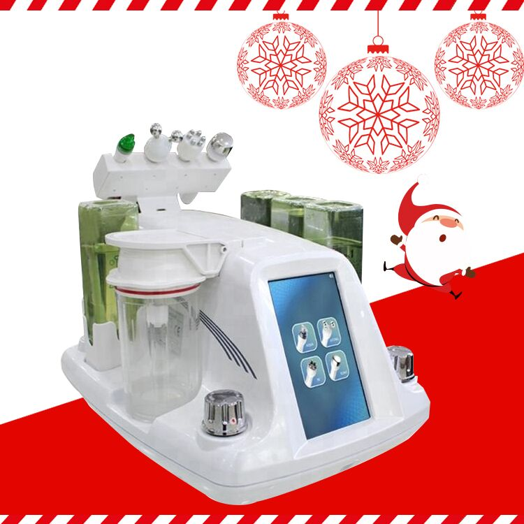 2019 New Hydra RF Bio-lifting Spa Facial Machine / Aqua Facial Cleaning Machine / Water Peeling Free Shipping