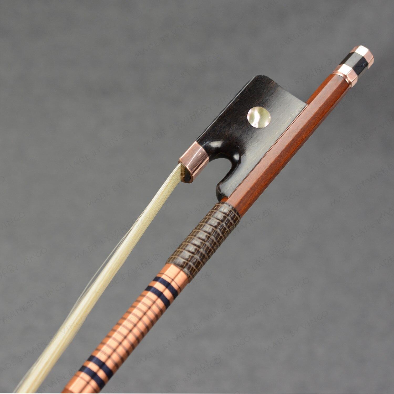 New Arrivals! 4/4 Pernambuco Cello Bow Strong Stick Deep Tone Elegant Edition