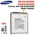 SAMSUNG оригинальный EB-BA405ABE EB-BA405ABU 3100 мА/ч, батарея для SAMSUNG Galaxy A40 2019 SM-A405FM/DS A405FN/DS GH82-19582A + Инструменты