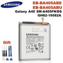 Samsung original EB-BA405ABE EB-BA405ABU 3100mah bateria para samsung galaxy a40 2019 SM-A405FM/ds a405fn/ds GH82-19582A + ferramentas