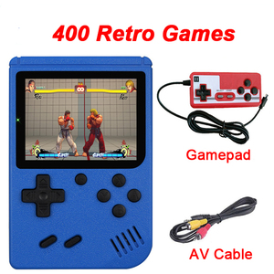Retro Portable Mini Gameplayers 3.0 Inch HandheldVideo Game Consoles AV Out Connect TV HD Screen Two Players For Childhood