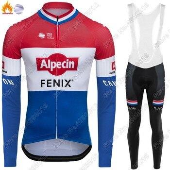 Conjunto de Jersey de ciclismo Alpecin Fenix de Países Bajos, ropa de...