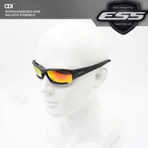 Image 4 - Gafas de sol polarizadas para hombre, unisex lentes de sol con protección UV400, lentes tácticos de estilo militar, a prueba de balas