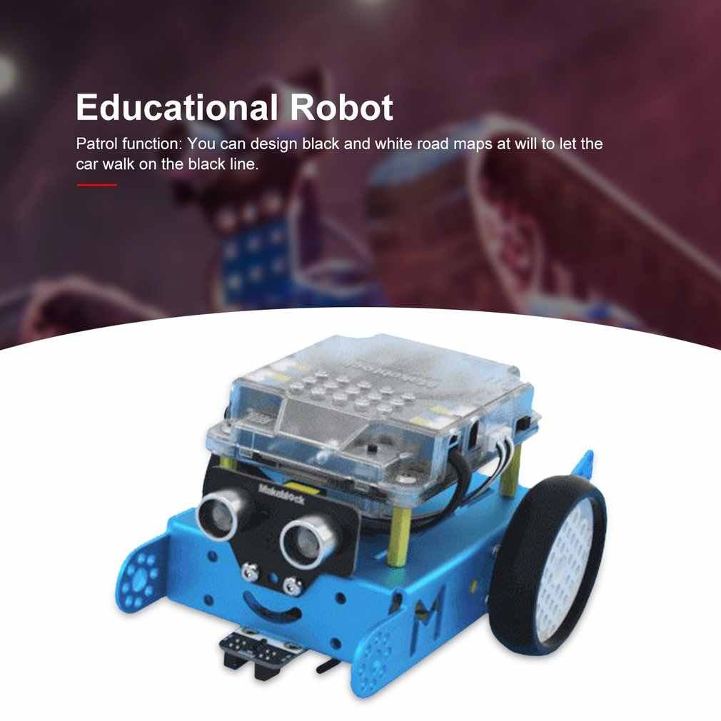 Makeblock Mbot DIY Robot Kit Programming AIDS Robot Entry Level untuk Chil Stem Education Mbot V1.1 Bt Versi
