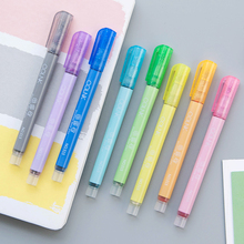 Colored highlighter pen stationery fluorescent marker pen 8 colors mark pen cute DIY art school supplies highlighter markers pen delvtch 6pcs set 1 0mm color gel ink pen glitter highlighter fluorescent pen art marker pens painting drawing student staionery