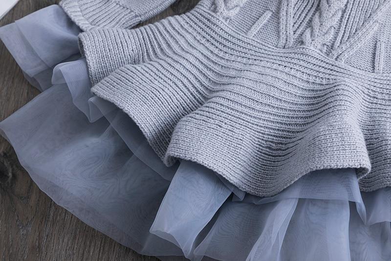 Hae3752bdde7d4827bdf22bef474355b4N Petals Designs Girl Dress Children Party Costume Kids Formal Events Vestidos Infant Tutu Flower Dress Fluffy Wedding Gown 3 5 7T