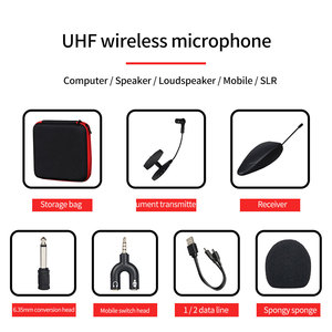 Image 5 - Stage Saxophone Brass Instrument Sensitive Wireless Microphone Professional Performance Portable With Converter UHF Transmission