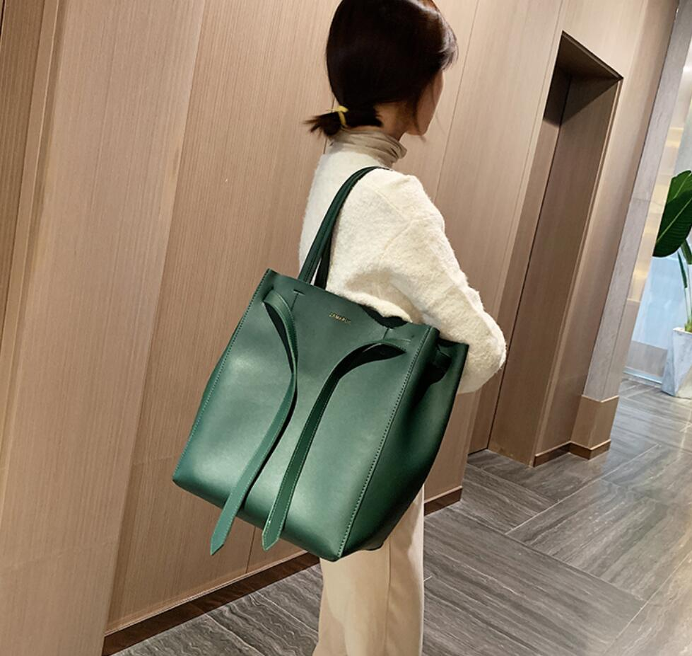 2019 Fashion Big Women Handbag PU Leather Women Shoulder Bags Designer Women Messenger Bags Ladies Casual Tote Bags