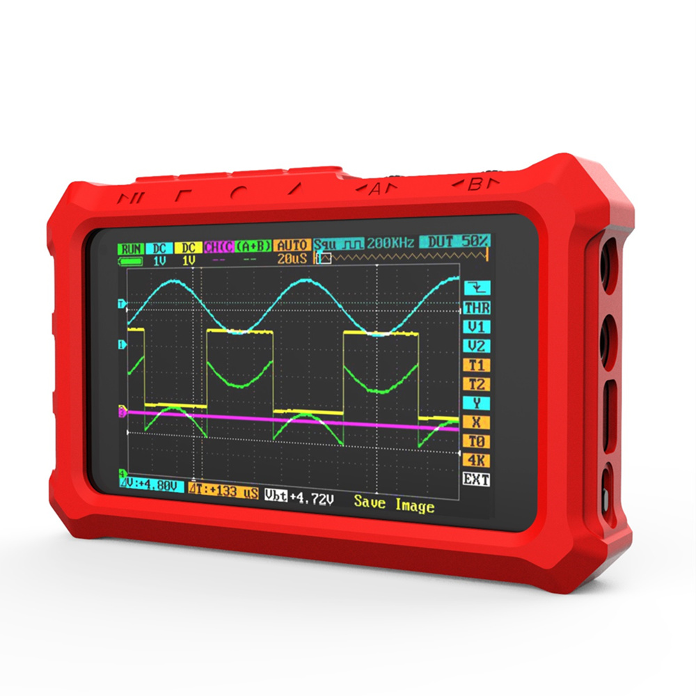 Protective Silicone Case Silicone Case for DS213 <font><b>DS203</b></font> <font><b>Mini</b></font> Pocket Size LCD Digital Portable Storage <font><b>Oscilloscope</b></font> Silicone Case image