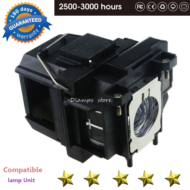 EB-S02 EB-S11 EB-S12 EB-W12 EB-W16 EB-X02 EB-X12 EB-X14 EB-X14G EH-TW550 EX3210 H494C Projector Lamp For ELPLP67 For EPSON Lamp