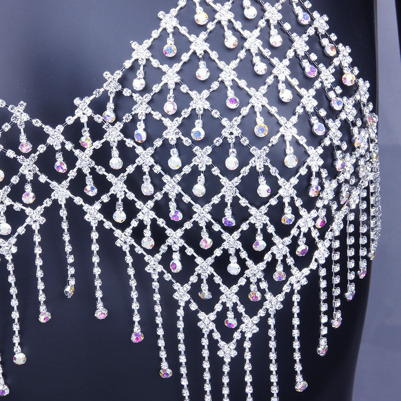 Hae37d9b145a547ebb13b6b24f854d776H Bling Bling Colorful Crystal Tassel Body Bra Chain Jewelry