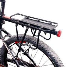Deemount portaequipaje de bicicleta, rejilla trasera para carga, soporte de apoyo de bolsos, maletero de 20 29, Mtb y bicicleta ancha de 4,0