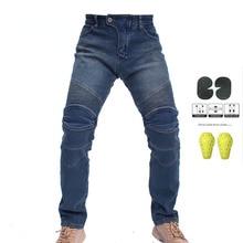Зимние новые Kominie riding плюс бархатные толстые мотоциклетные rider джинсы анти-осенние брюки мотогонок с защитным снаряжением