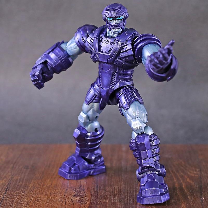 Marvel Legends Capt Marveil Build A Figure Series Kree Sentry BAF 100/% Complete