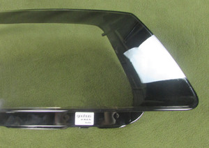 Image 4 - Audi için Q5 2010 2011 2012 far şeffaf kapak abajur lamba gölge lamba cam far kabuk Lens camı