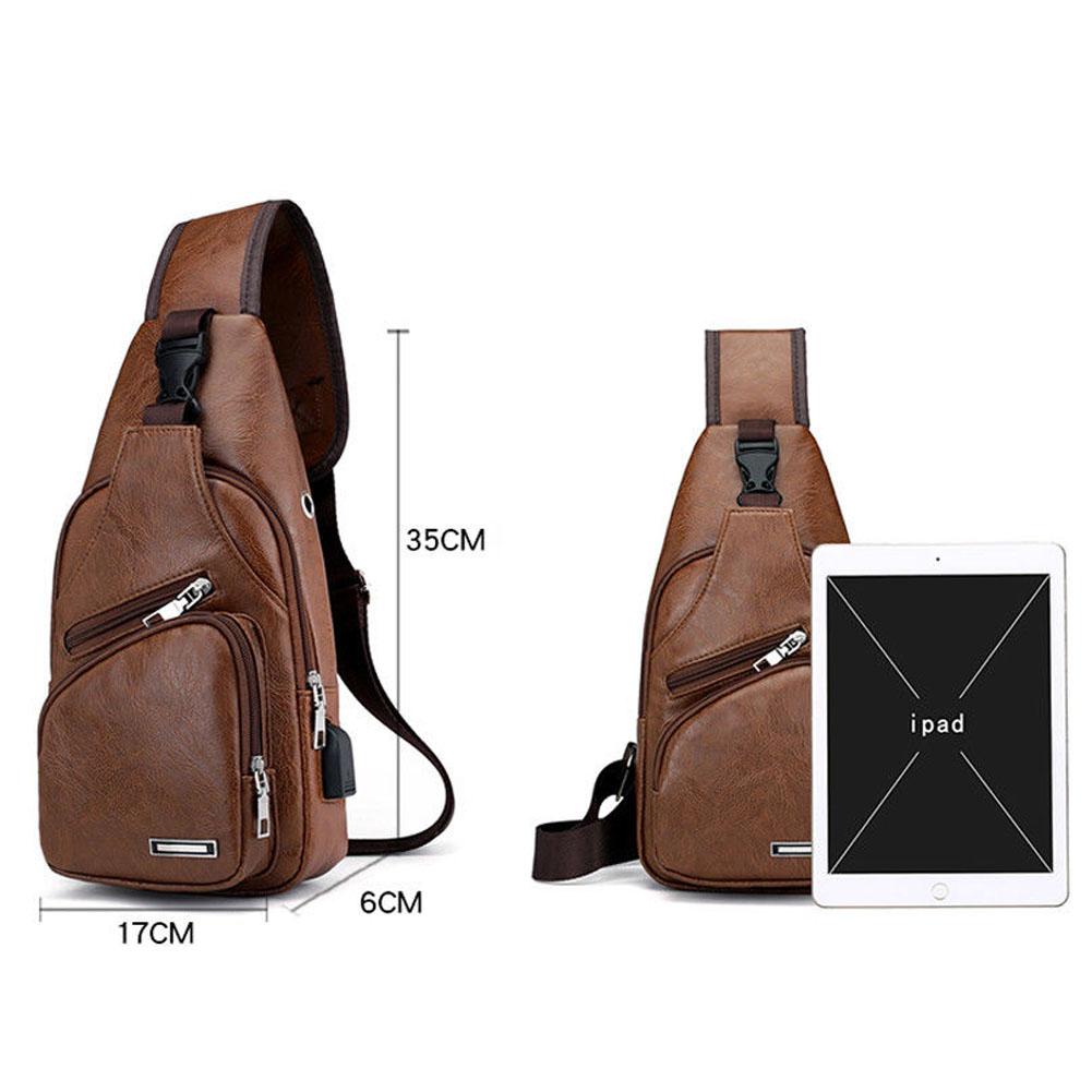 Porta carregamento USB: Essa bolsa vem com uma porta de carregamento, você pode conectar seu telefone e carrega-lo facilmente durante o dia ou viajar. Você também pode ouvir sua música favorita conectando o fone de ouvido diretamente à sua mochila.