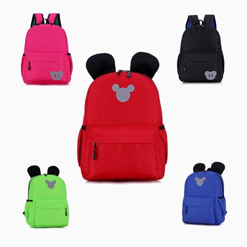 Children Small Bookbag Baby Nursery Boy Primary School Grade One Girls Cute Backpack Printed Words And Logo
