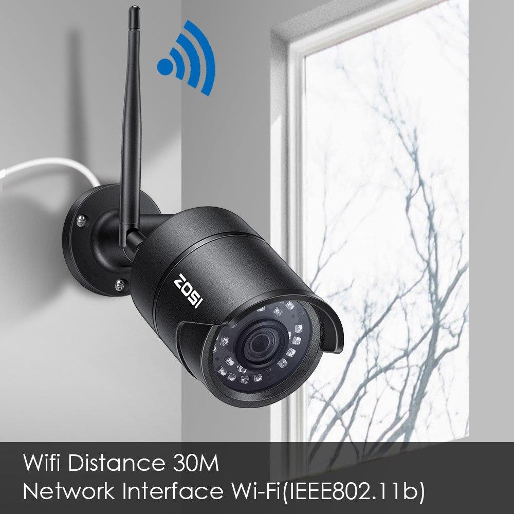 ZOSI POE CCTV IP Security Camera 1080p 2MP HD Outdoor Onvif IR Night Vision