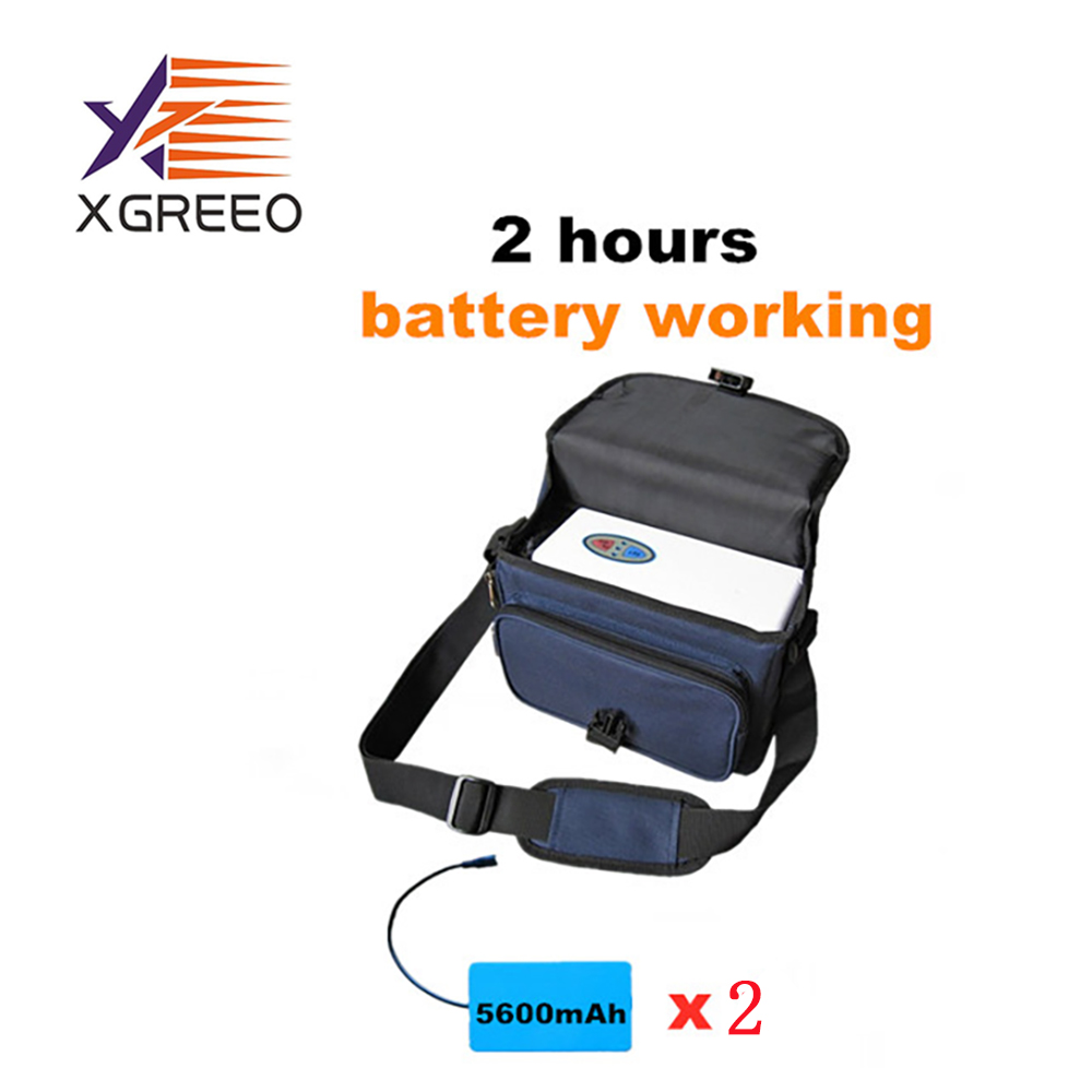 XGREEO Factory Portable 3L Oxygen Concentrator With Battery Use In Home/Car/Travel