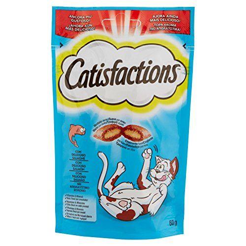 CATISFACTION Snack Per Gatto Al Salmone Gr. 60 - Snack Per Gatto