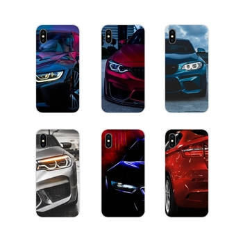 Accessories Phone Shell Covers For Samsung A10 A30 A40 A50 A60 A70 M30 Galaxy Note 2 3 4 5 8 9 10 PLUS Blue Red black For BMW image