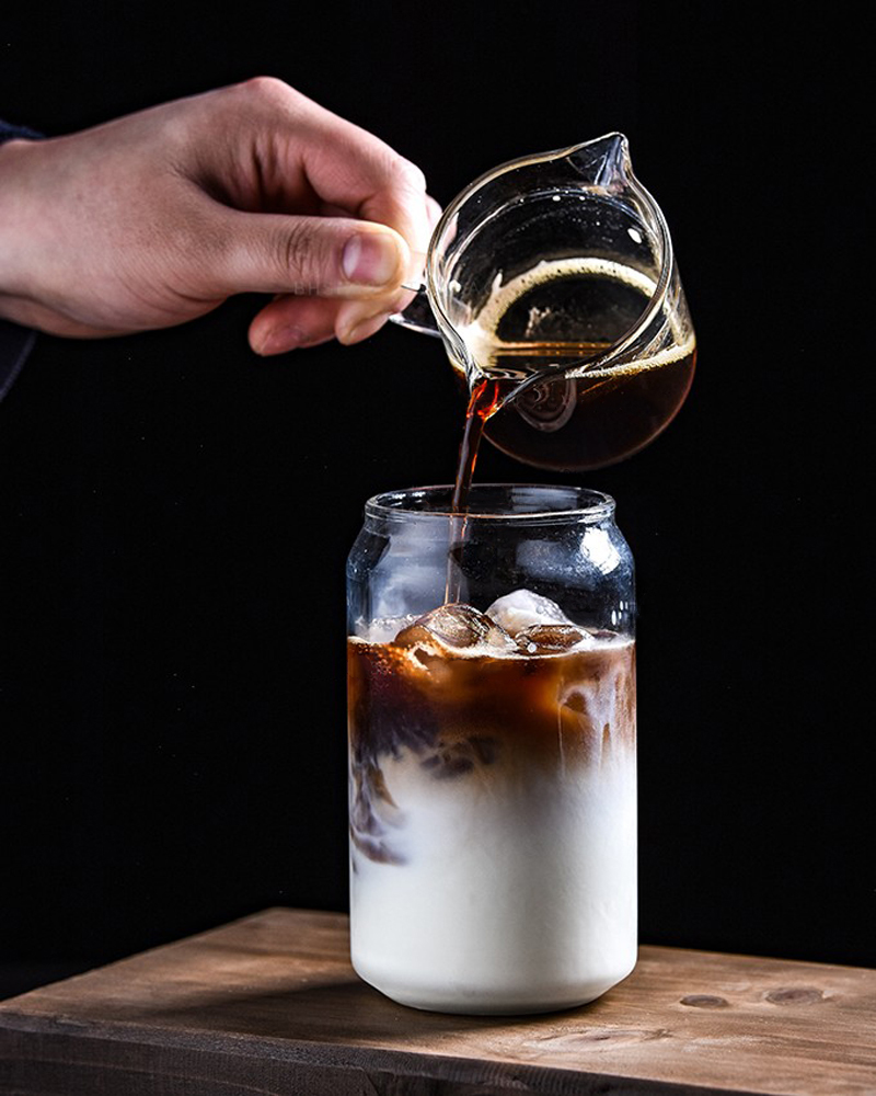 Creative Glass Mug Soda Cola Can Shaped Glass Mug Ice Beer Cup Bar Cafe Beverage Juice Cup Heat Resistant Glasses 400ML550ML (1)