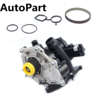 06K 121 605 Water Pump With Belt Cooling Regulator Thermostat For VW Golf MK7 Passat B8 Audi A4 A6 Q5 EA888 1.8 TFSI 06L121111H