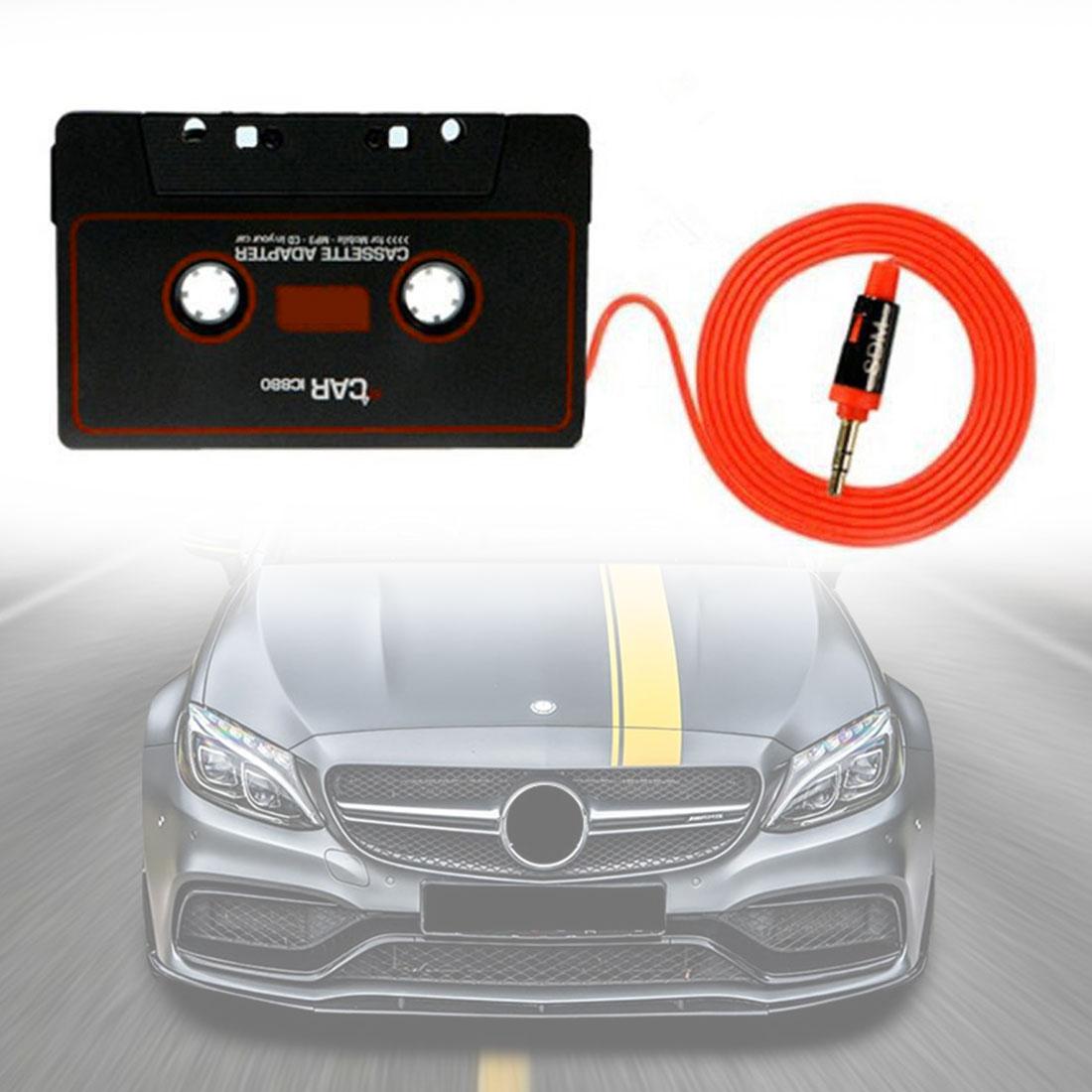 Marsnaska New Arrival Car Cassette Tape Stereo Adapter Tape Converter 3.5mm Jack Plug for Phone MP3 CD Player Smart Phone|Car Cassette Player| |  - title=