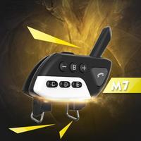 מכשיר הקשר Bluetooth V5.0 אינטרקום אופנוע קסדה אוזניות M7 Multi BT אלחוטית מכשיר הקשר 800 סטריאו Interphone Headset לקבלת 5 Rider (5)